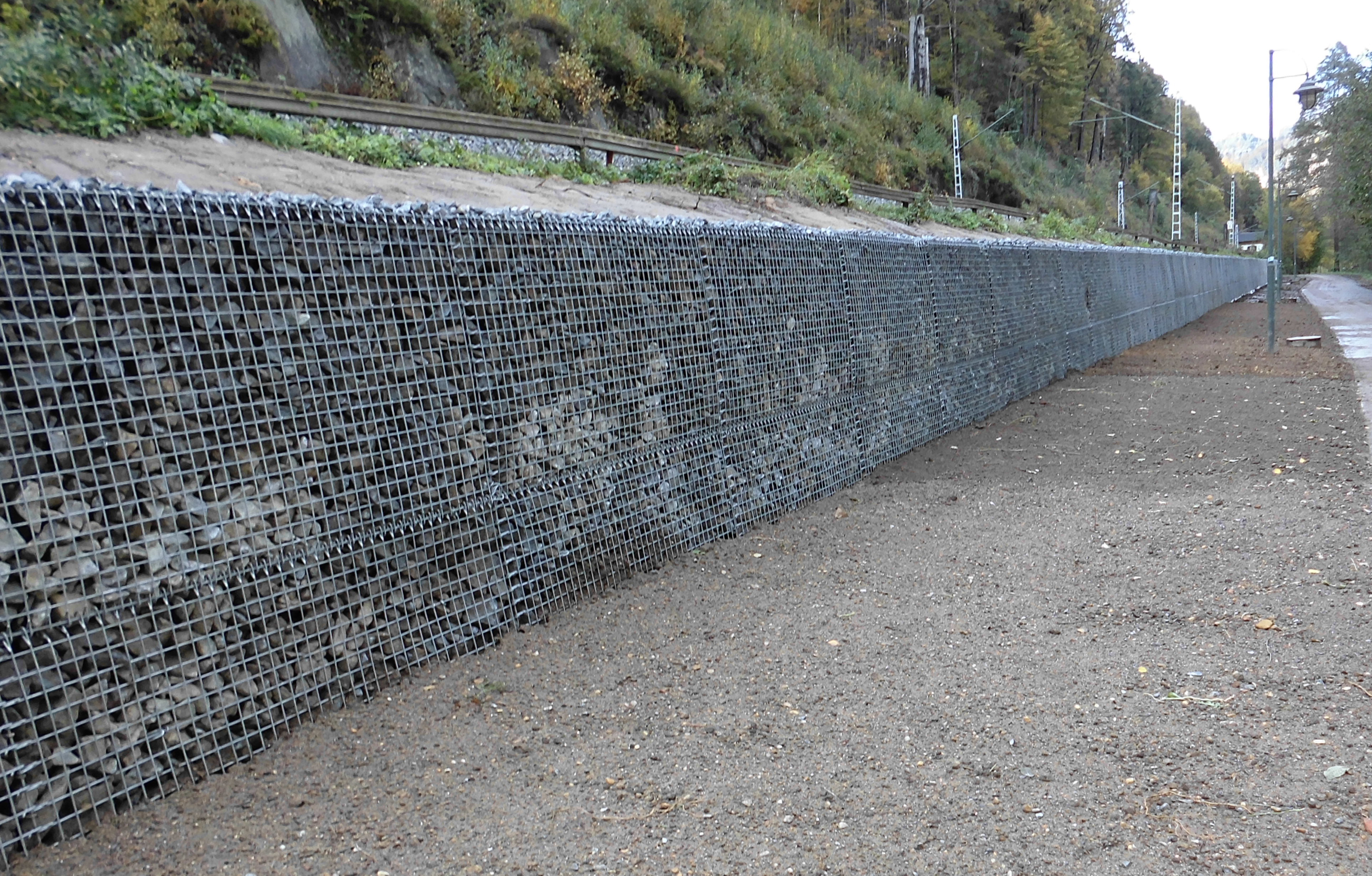 Retaining Walls I DB Bahnbau Gruppe