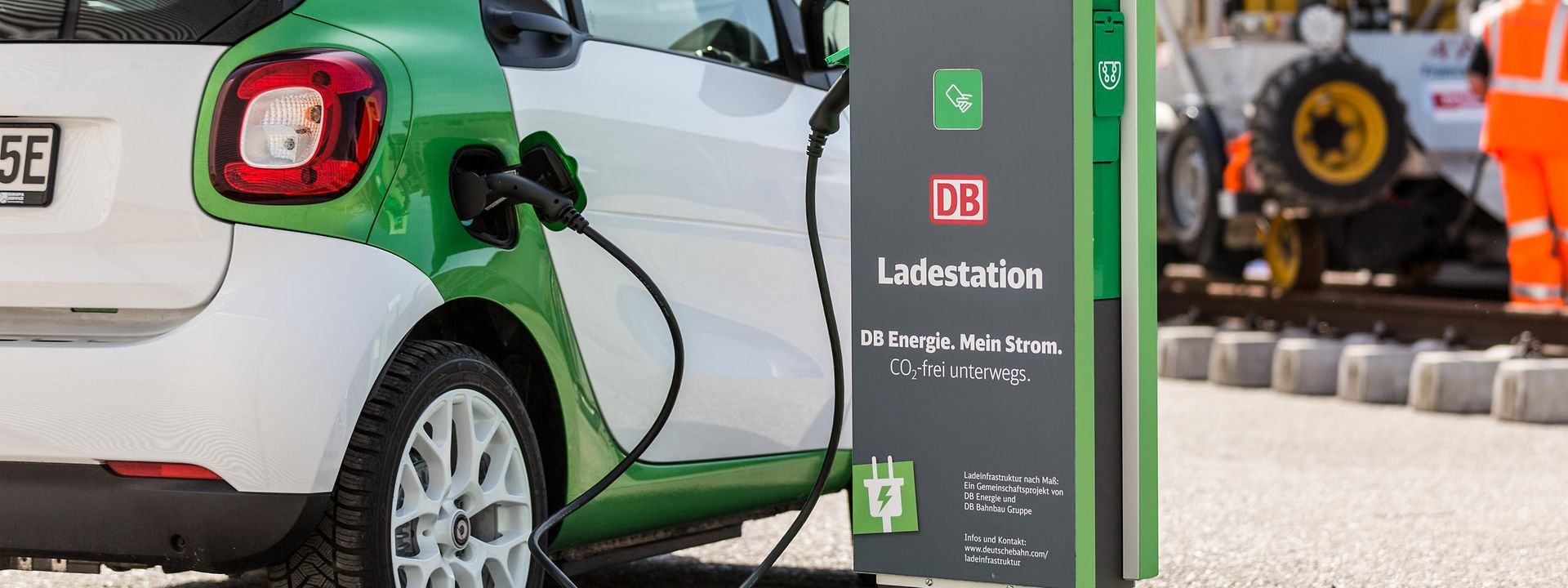 DB Ladestation mit Smart